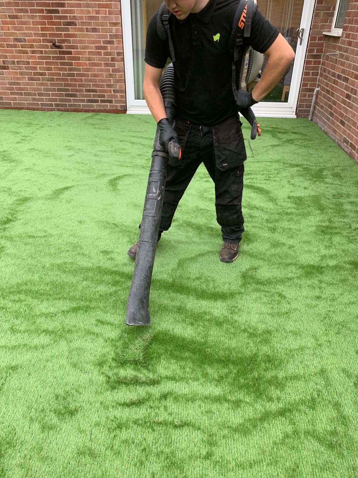 Artificial Grass Blaxton Artificial Super Grass