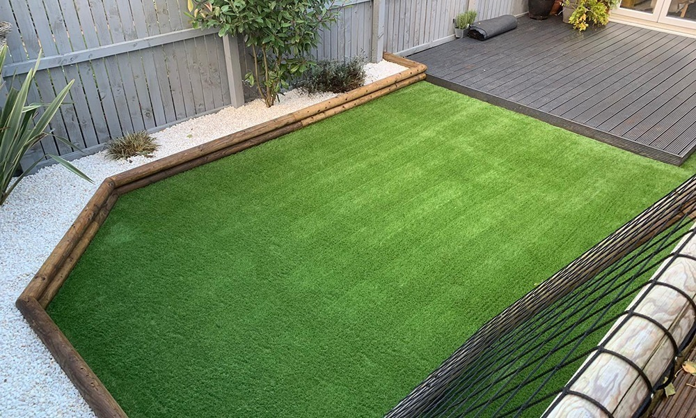 How to Install Artificial Grass in Huddersfield on to Concrete