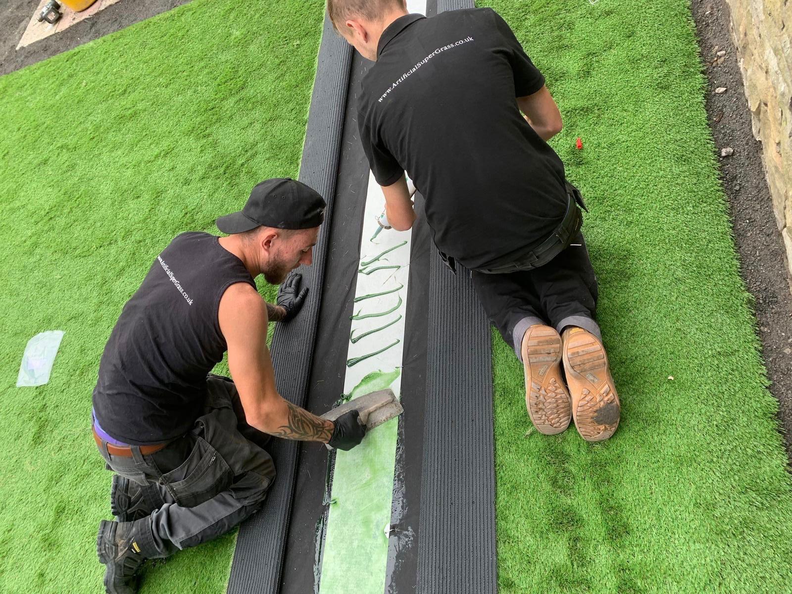 Fake Grass Costs Lofthouse Artificial Super Grass