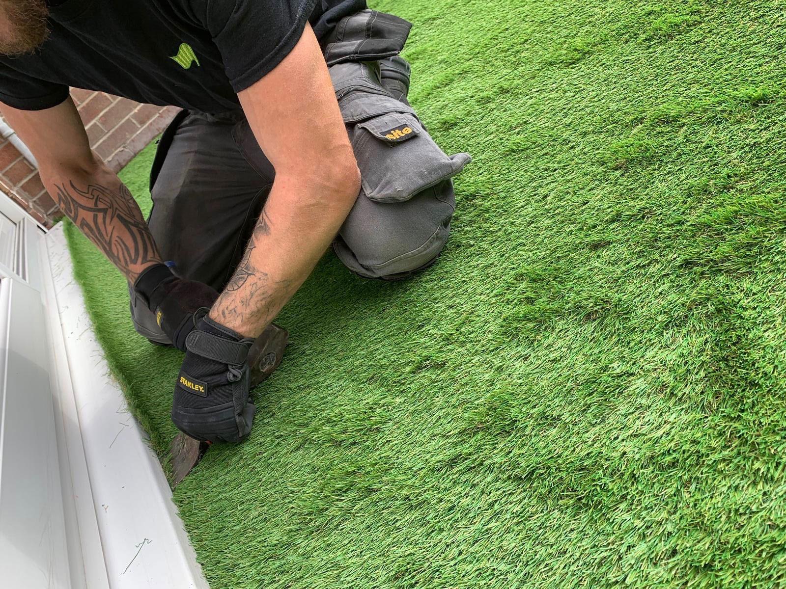 Fake Grass For Dogs Kidsgrove Artificial Super Grass
