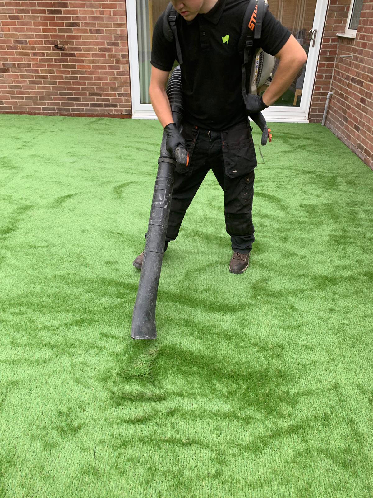 Fake Grass For Dogs Middleton Artificial Super Grass