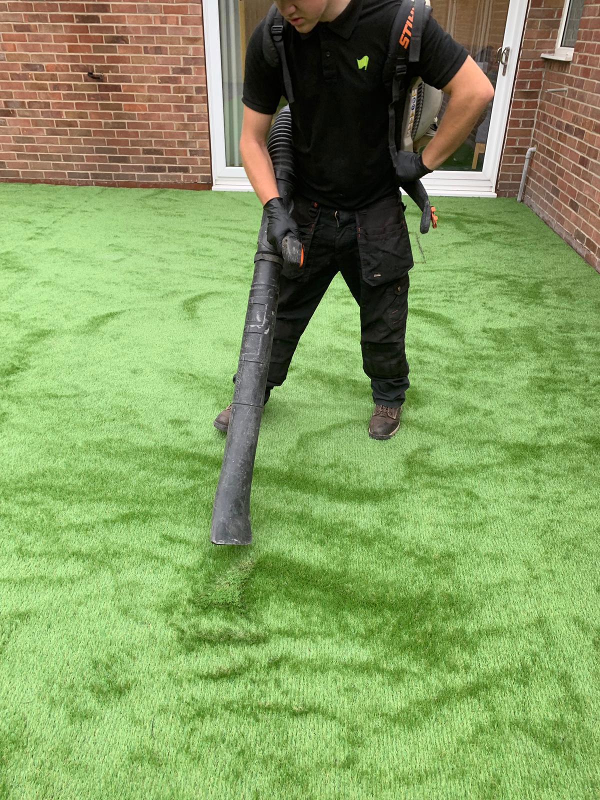 Laying Artificial Grass Grantham Artificial Super Grass