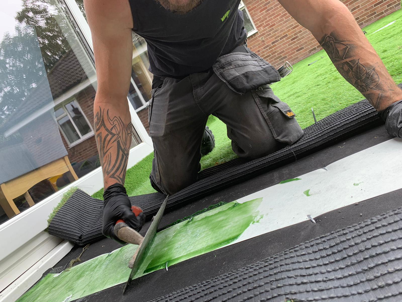 Laying Artificial Grass Leeds Artificial Super Grass