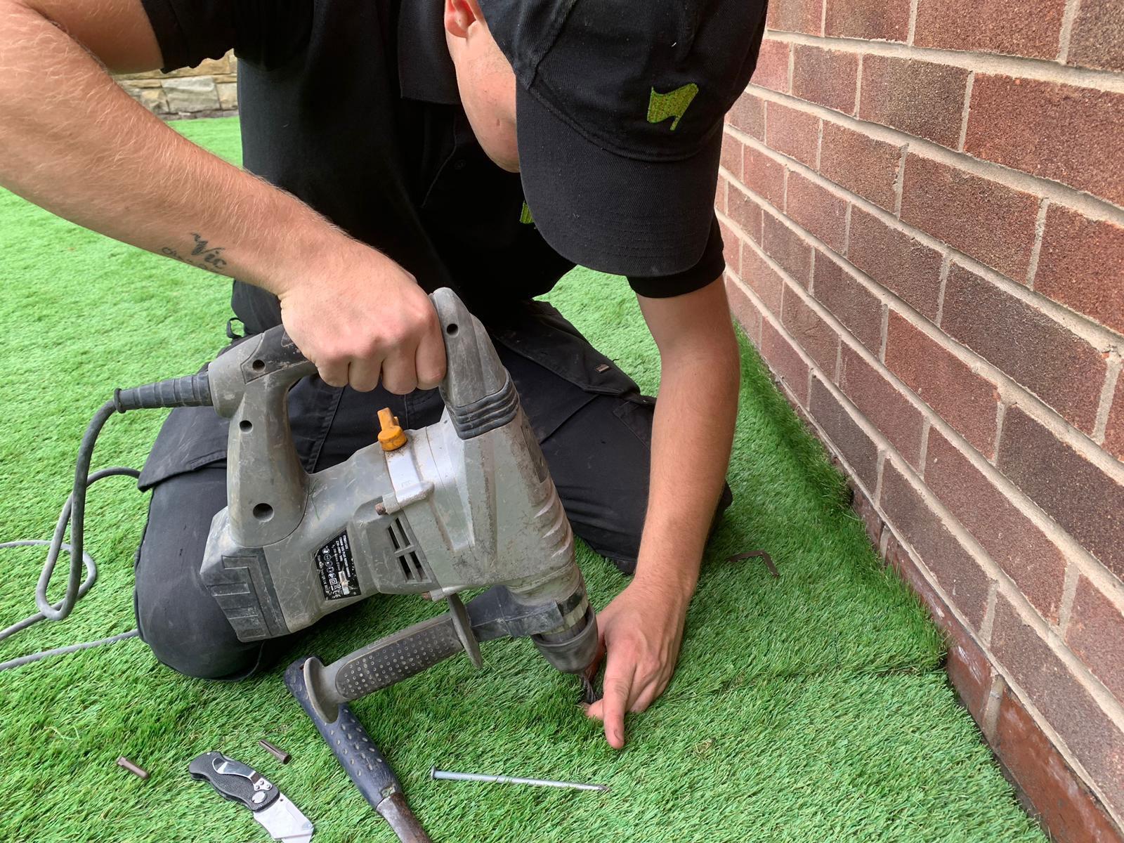 Laying Artificial Grass Pontefract Artificial Super Grass