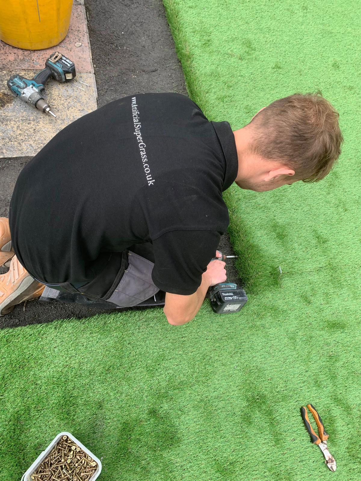 Laying Artificial Grass Scarborough Artificial Super Grass