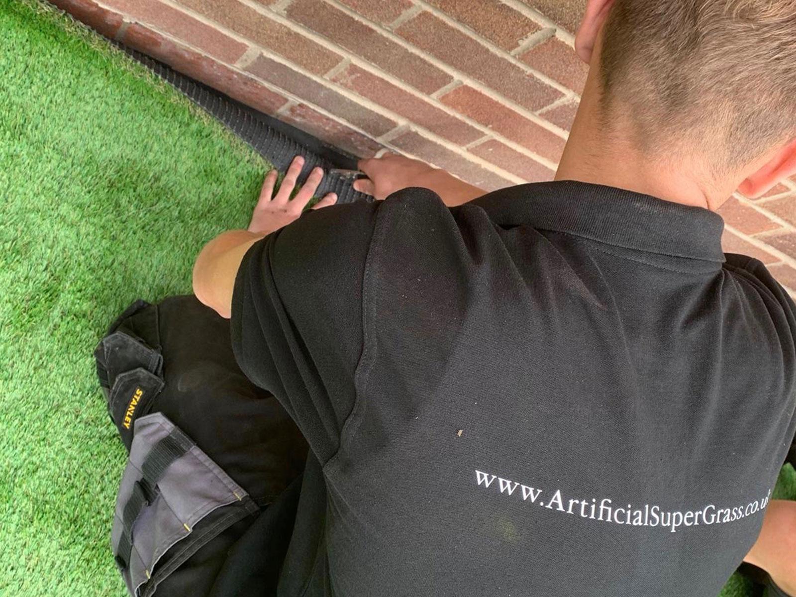 Laying Artificial Grass Swinton Artificial Super Grass