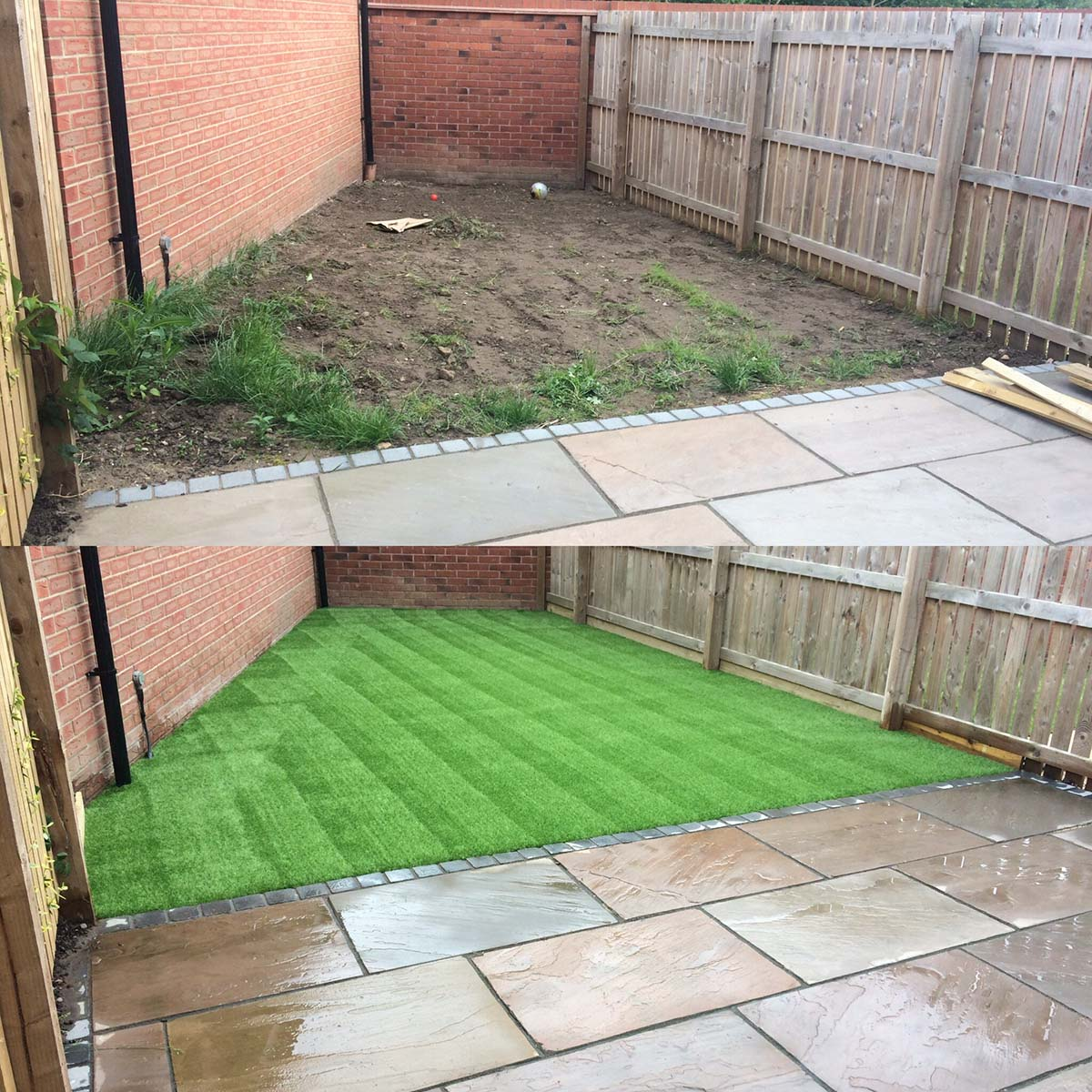 Artificial Grass Corner