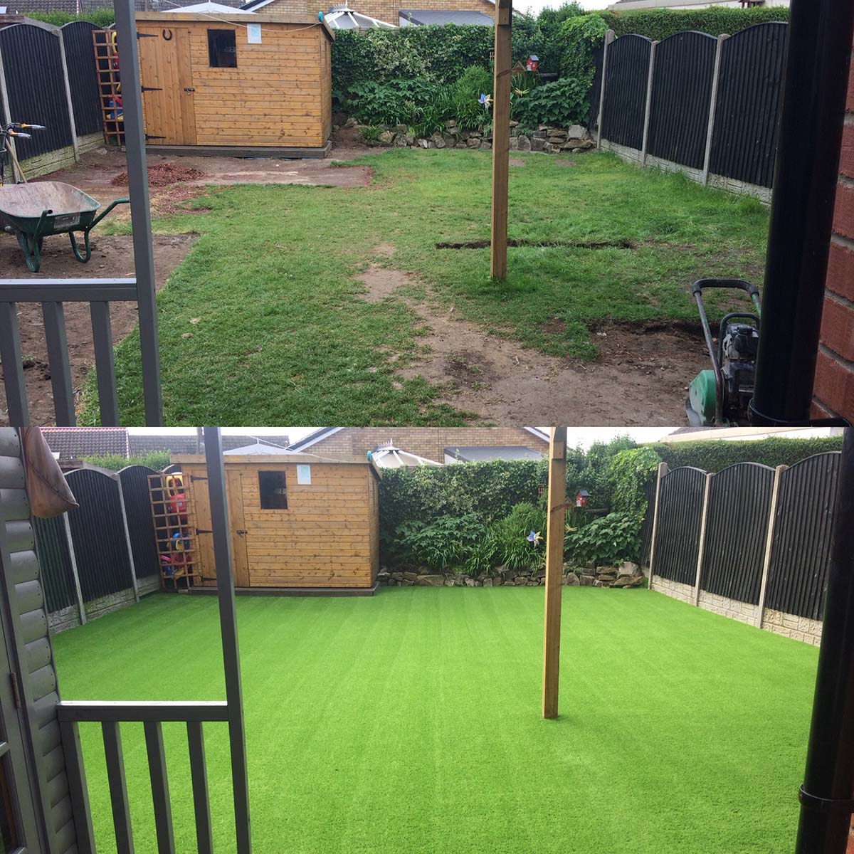 Garden Grass Installation Company Doncaster